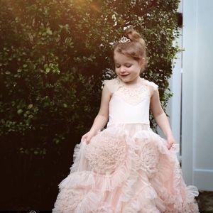 07fec4fa81d9 Best Fairy Dust Wishes Dresses - Gorgeous Blush Pink Flower Girl Dress Size  6